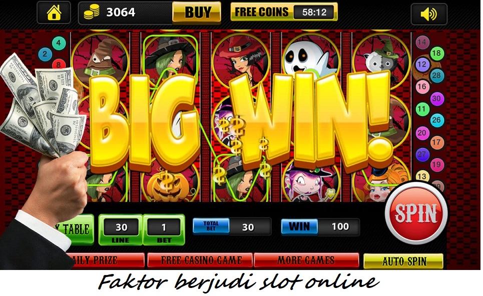 Faktor berjudi slot online